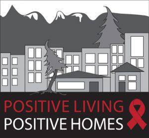 Positive Living, Positive Homes logo